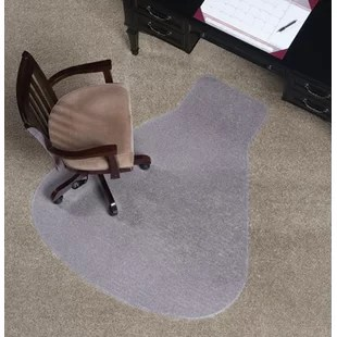 carpet chair mats throne cover you ll love wayfair workstation medium plush mat