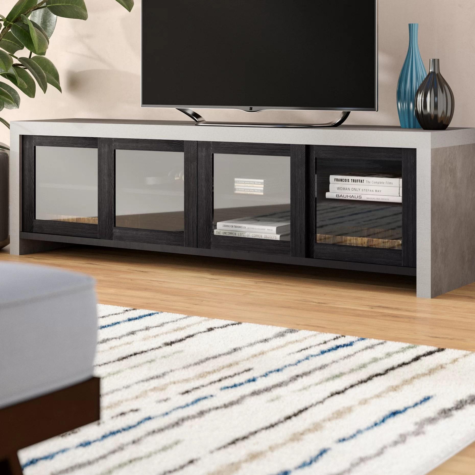 brayden studio behan transitional tv stand for tvs up to 70 reviews wayfair