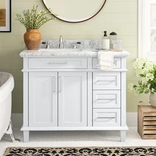newport 42 single bathroom vanity set