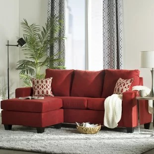 red couch living room photos what do i need to decorate my sectionals you ll love wayfair quickview