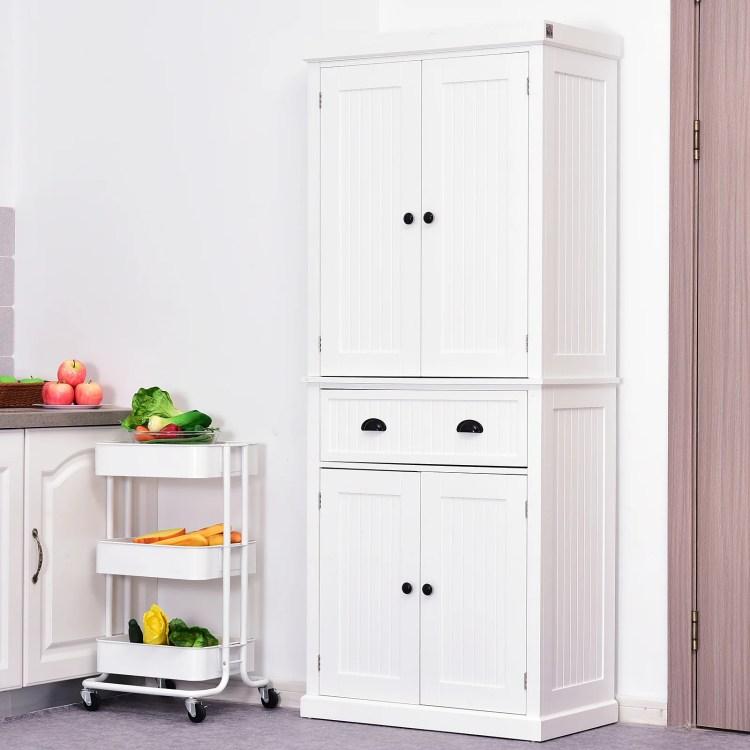 Gracie Oaks Stahl 72 Kitchen Pantry Reviews Wayfair