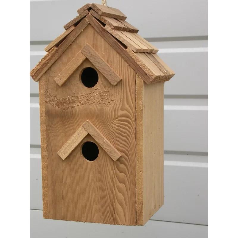 Condo 14 in x 6 in x 6 in Birdhouse
