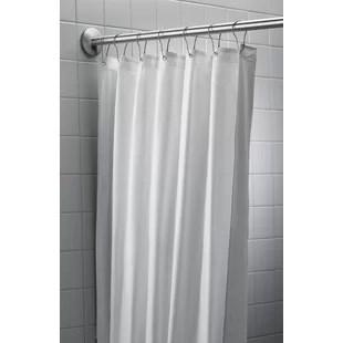 strawser antimicrobial nylon vinyl single shower curtain