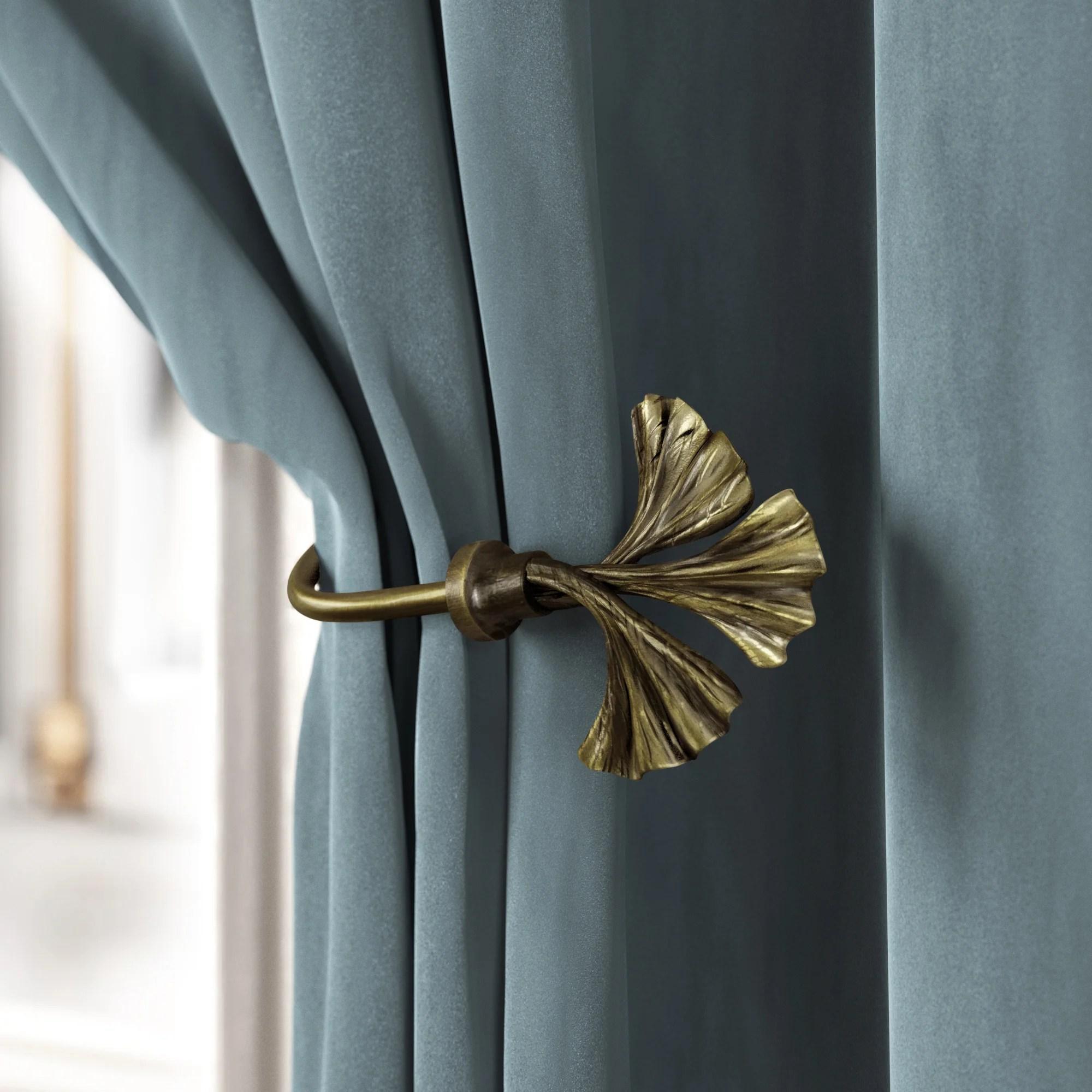 curtain tie backs holdbacks free