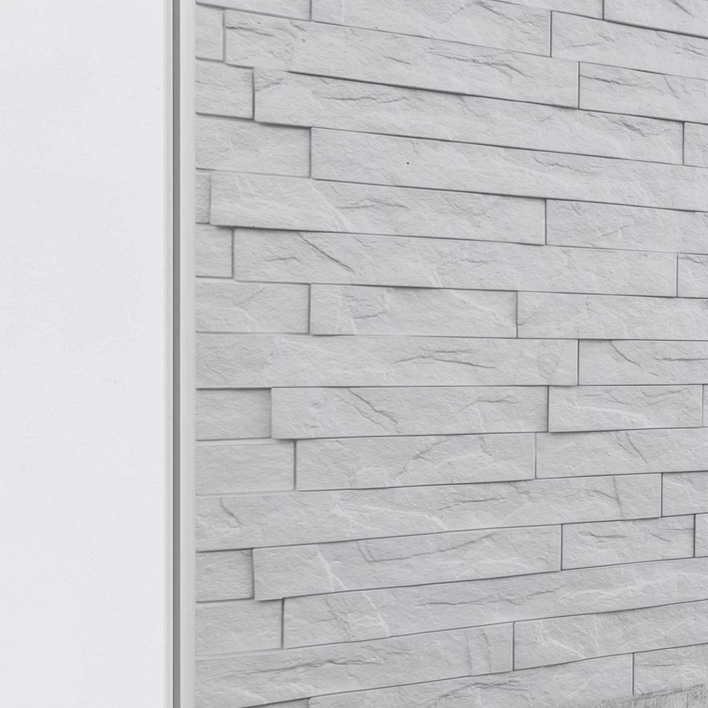48 x 0 5 metal edge trim tile trim in white