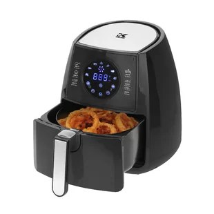 kitchen air cabinets omaha find fryers for your wayfair 2 liter digital fryer with pie pan exclusive