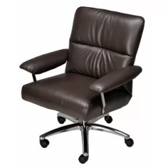 Desk Chair Recliner Hanging Olx Office With Footrest Wayfair Elis Leather
