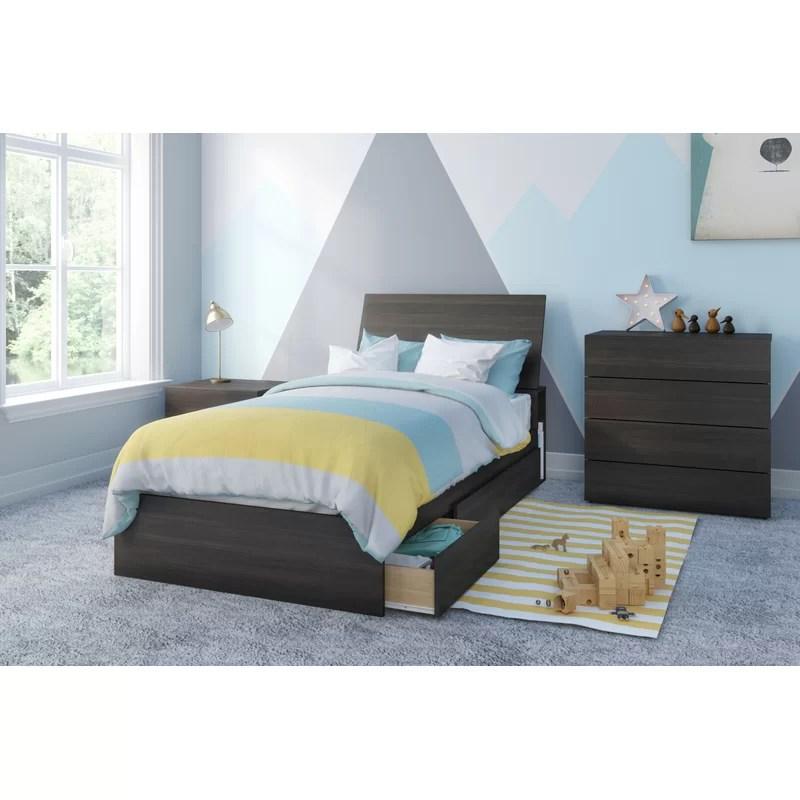 pereda twin platform 4 piece bedroom set