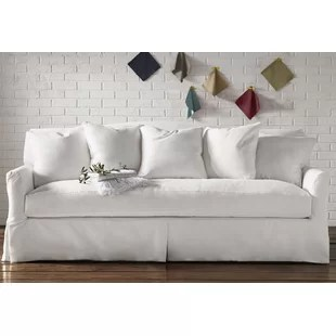 custom sectional sofa curved leather uk sofas sectionals birch lane fairchild slipcovered