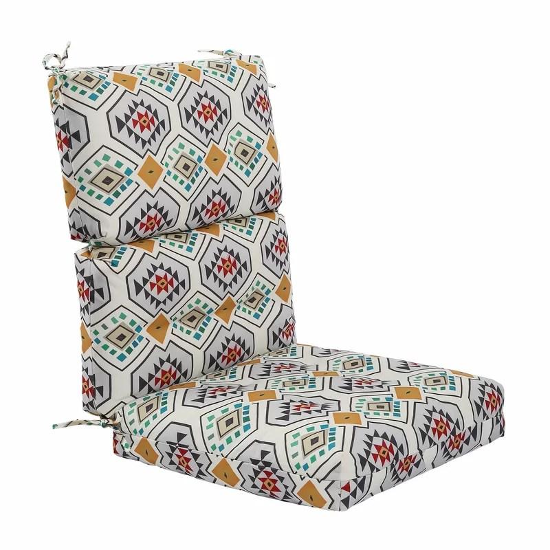 chaise lounge cushion patio chair pad