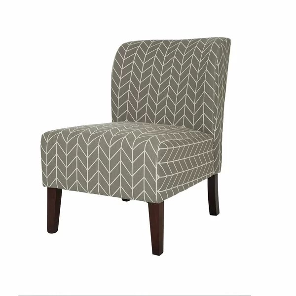 contemporary accent chair scoop back dining chairs glitzhome modern slipper wayfair