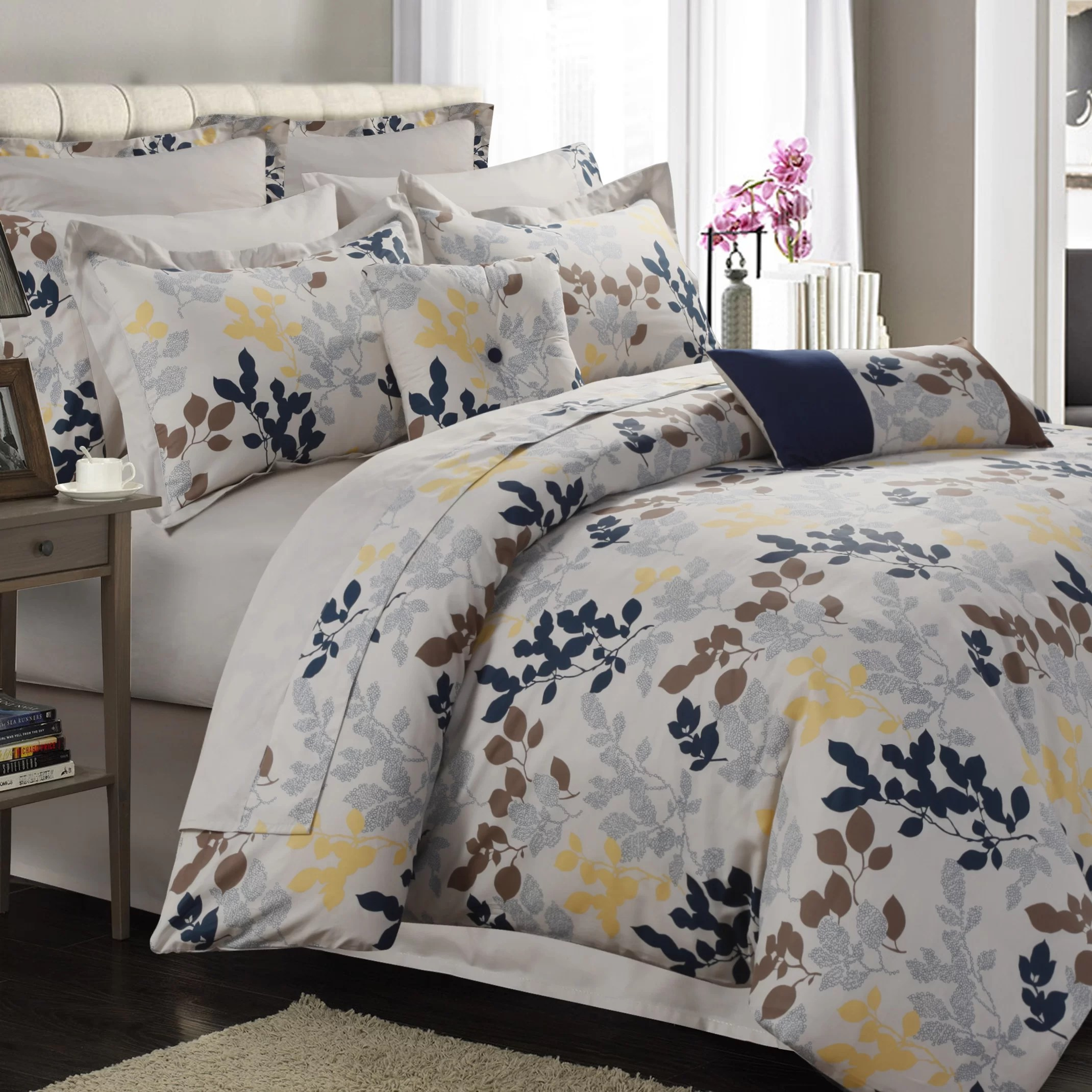 renay 12 piece comforter set