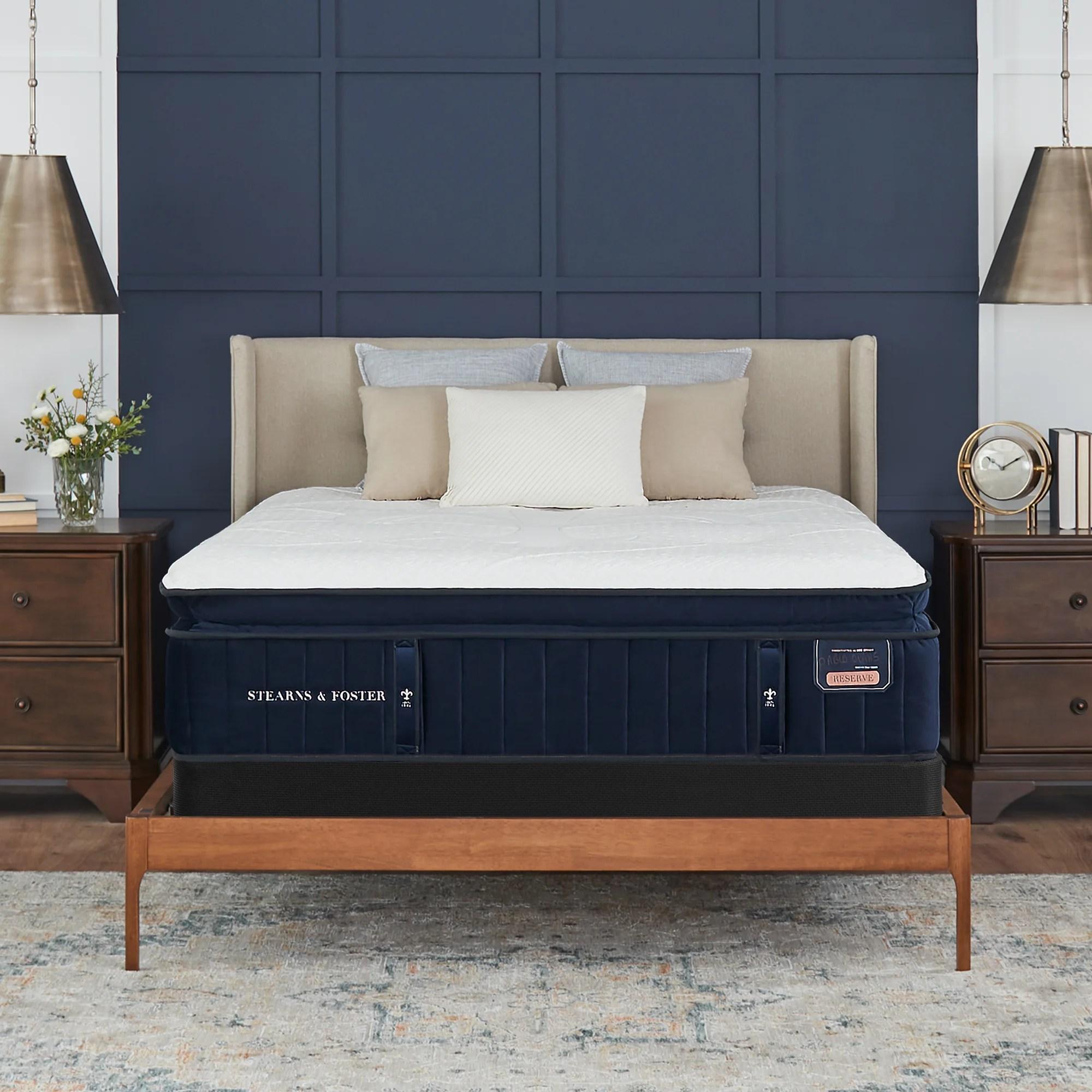 stearns foster reserve 16 plush pillowtop mattress