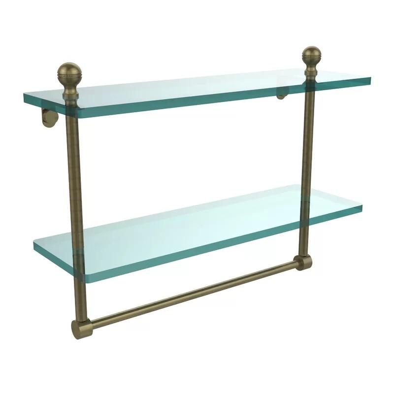 Universal Wall Shelf Finish: Antique Brass
