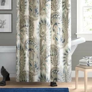 100 cotton shower curtains