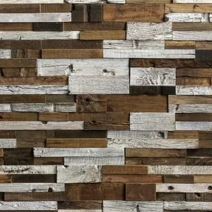 timber 12 x 24 wood mosaic tile