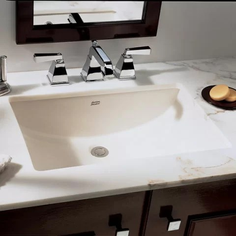 american standard studio ceramic rectangular undermount bathroom