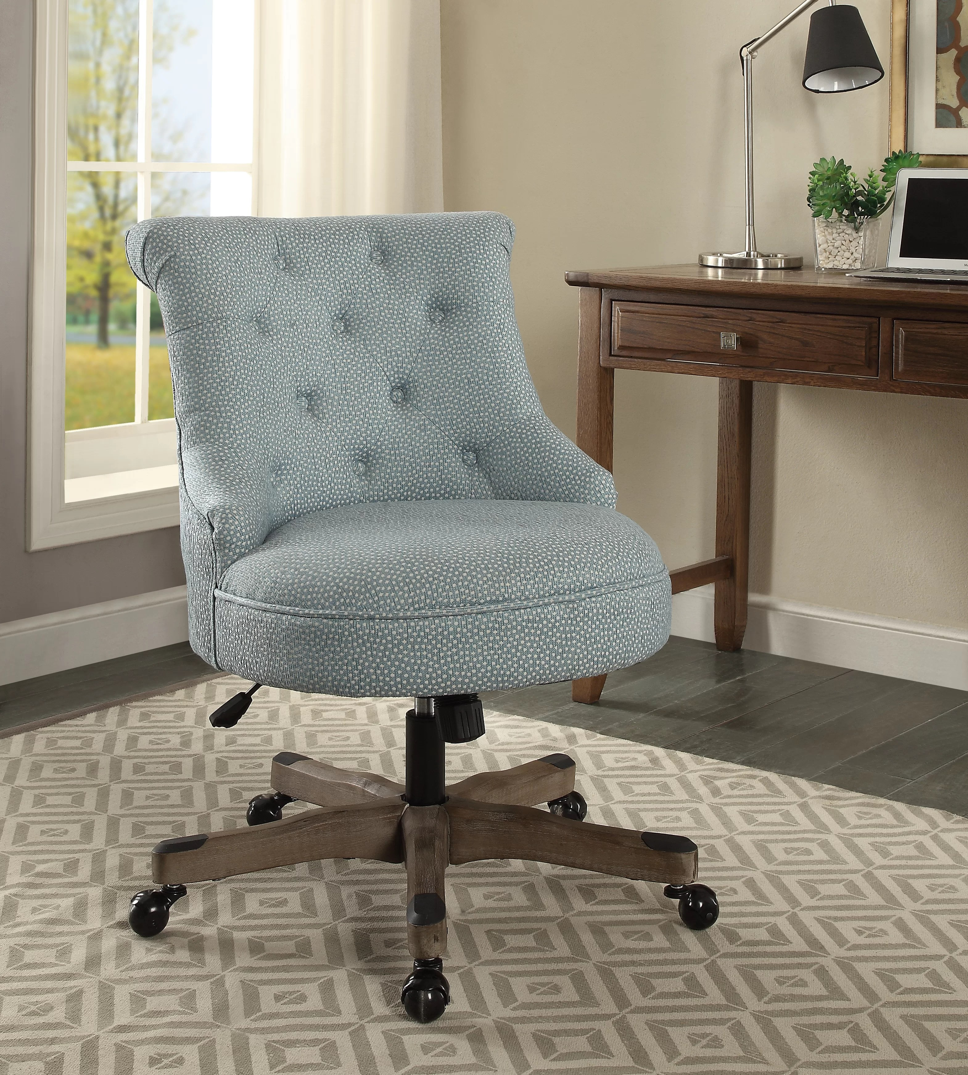 Blue White Office Chairs You Ll Love In 2020 Wayfair