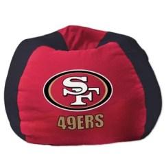 49ers Camping Chair Blue Wingback With Ottoman Nfl San Francisco Furniture You Ll Love Wayfair Bean Bag