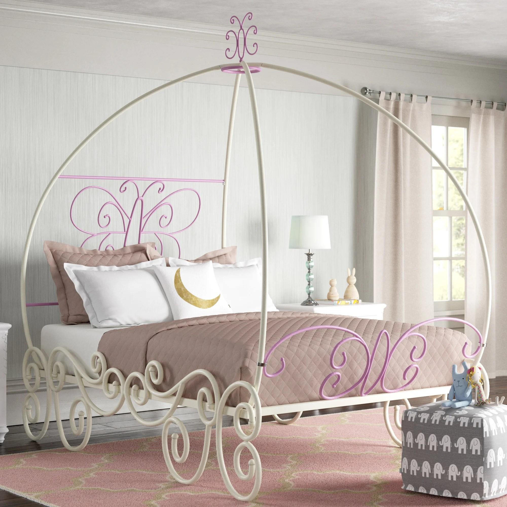 full size princess beds wayfair