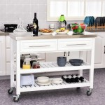 Rosecliff Heights Kourtney Rolling Kitchen Island With Stainless Steel Top Reviews