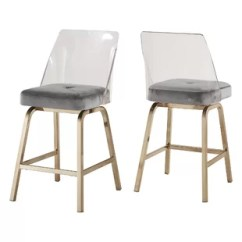 Ghost Chair Bar Stool Queen Anne Dining Chairs Modern Contemporary Clear Acrylic Stools Allmodern Quickview