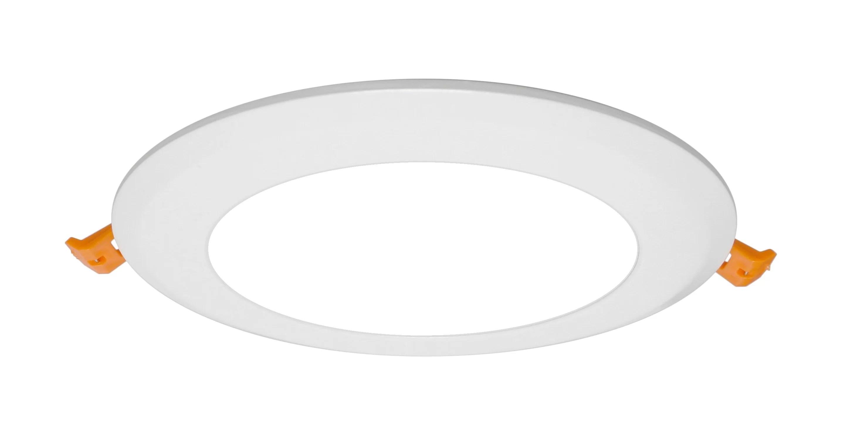 4 8 ultra slim led canless recessed lighting kit