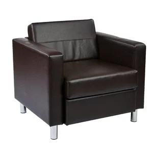 lounge chair leather and table covers rental modern contemporary tan allmodern quickview