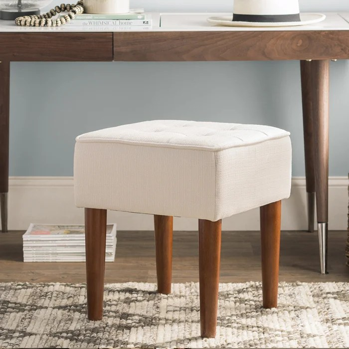 accent furniture for living room country joss main vanity stools