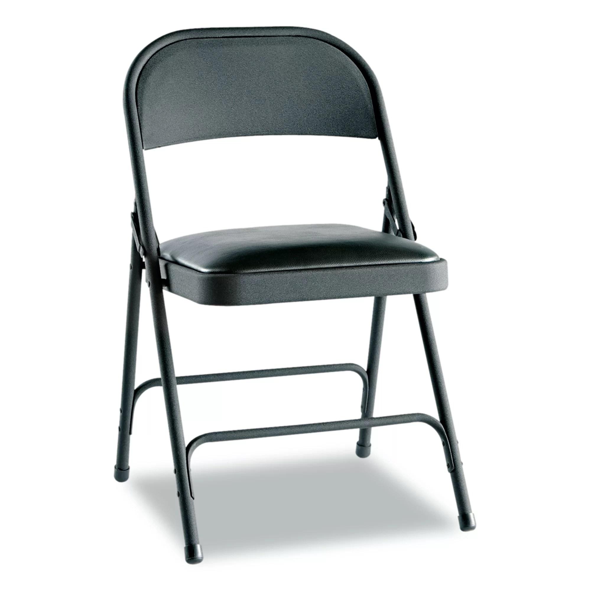 cloth padded folding chairs rocker chair alera fabric reviews wayfair
