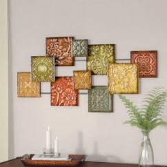 Wall Decorations For Living Room Pictures Walls Decor You Ll Love Wayfair Ca Hodges Square Panel