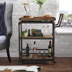 Trent Austin Design Oakfield Bar Cart Reviews Wayfair