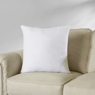 white cushion chair broyhill dining room chairs throw pillows you ll love wayfair quickview