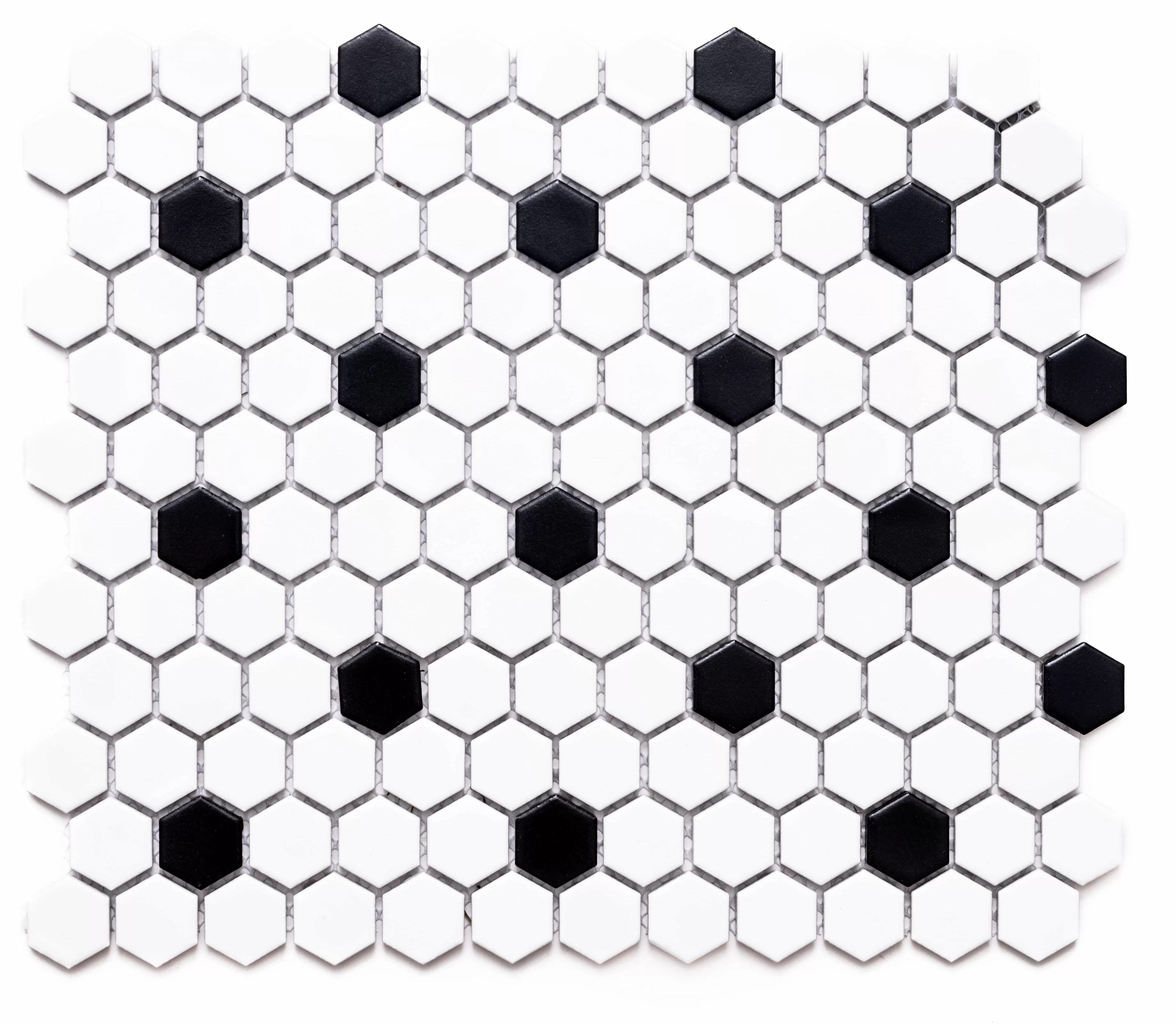 honeycomb remi 1 x 1 porcelain honeycomb mosaic wall floor tile