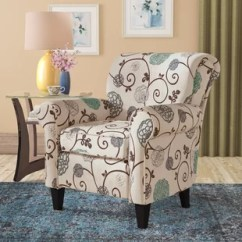 Floral Arm Chair Children Table And Set Accent Chairs You Ll Love Wayfair Atwater Armchair