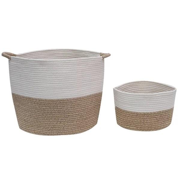 big storage baskets