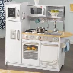 Kid Craft Kitchen White Islands Kidkraft Uptown Play Set Reviews Wayfair Ca