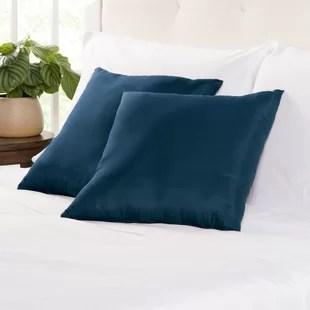 wayfair basics square throw pillow set of 2