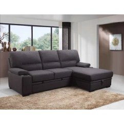 Apartment Size Sectional Sofa Bed Divani Casa 5001 Modern Bonded Leather Wayfair Ca Bridgwater Sleeper