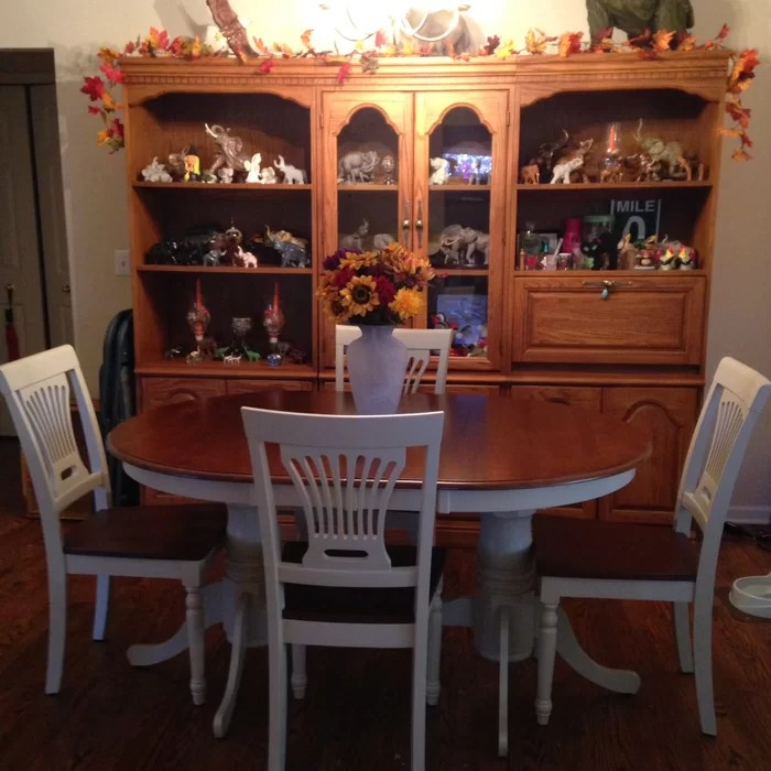 Germantown 5 Piece Extendable Dining Set - 48 inch round ...