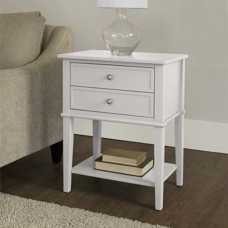Beachcrest Home Winfield End Table With Storage  Reviews