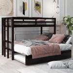 Harriet Bee Adelgund Twin Over Twin Bunk Bed With Trundle Wayfair