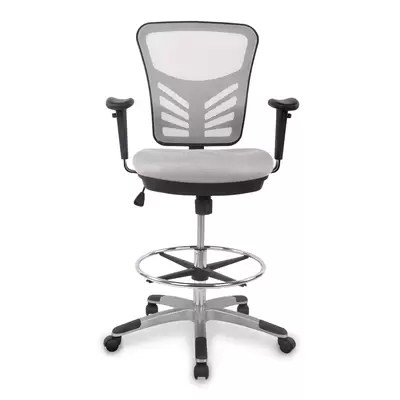 mesh drafting chair kitchen step stool frasch high back reviews wayfair nidhi