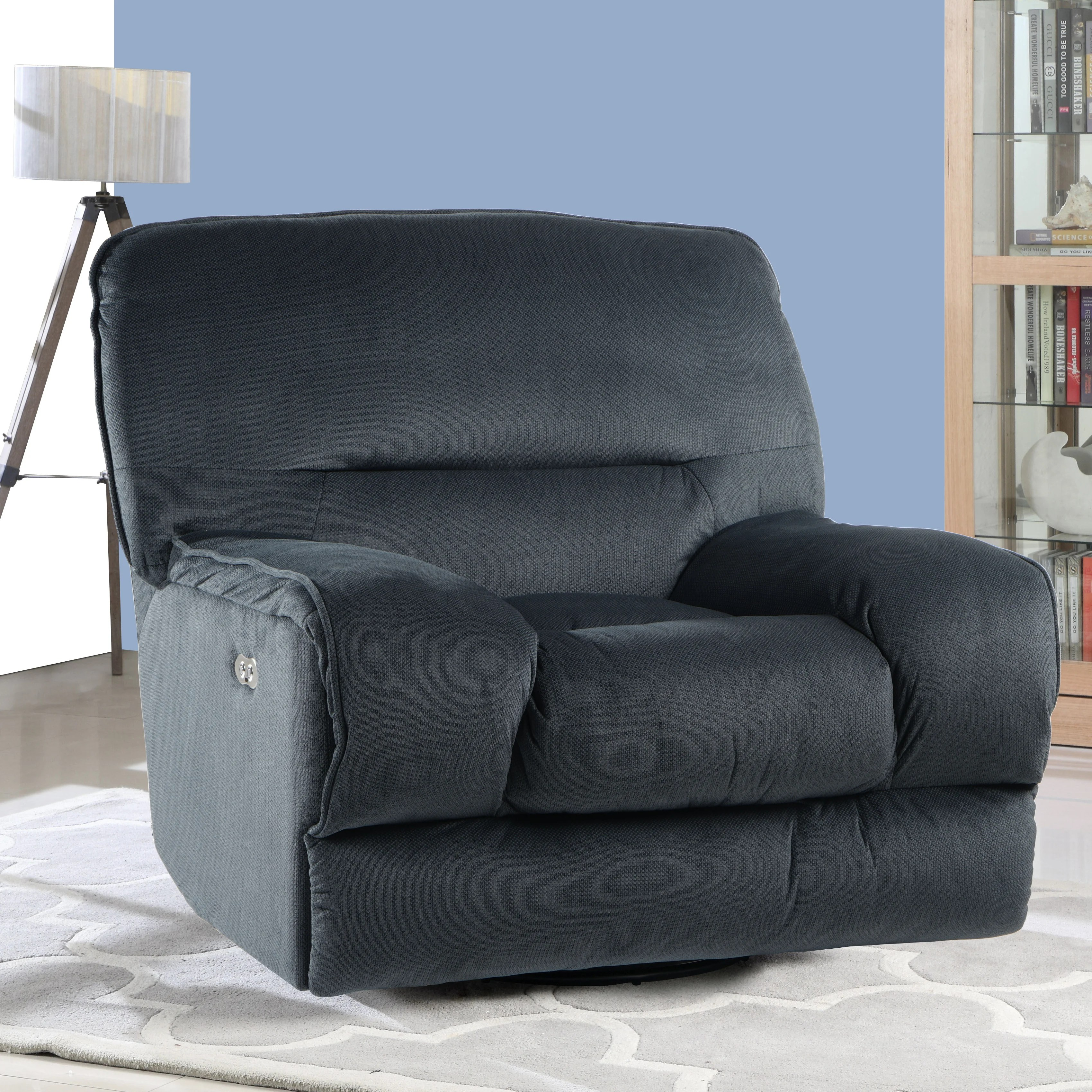 Swivel Rocker Recliner Chair Talton Electric Power Swivel Rocker Recliner