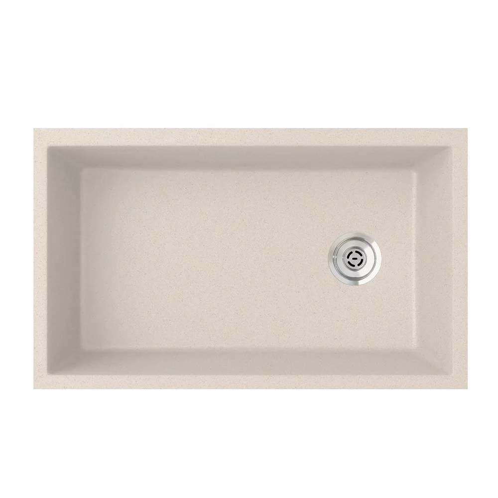 swan granite kitchen sinks clean the games surfaces 19 25 l x 31 88 w undermount sink wayfair ca