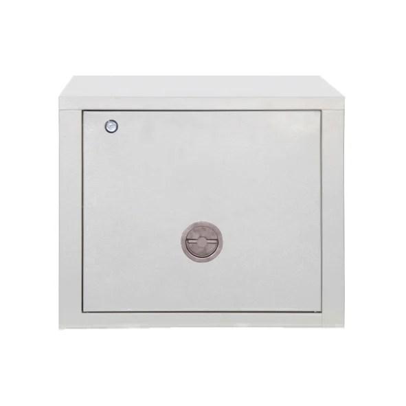 Stack Storage Cabinet Color: White