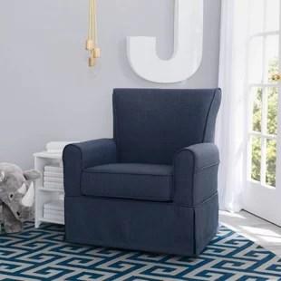 blue glider chair mat for hardwood floor staples gliders ottomans you ll love wayfair quickview