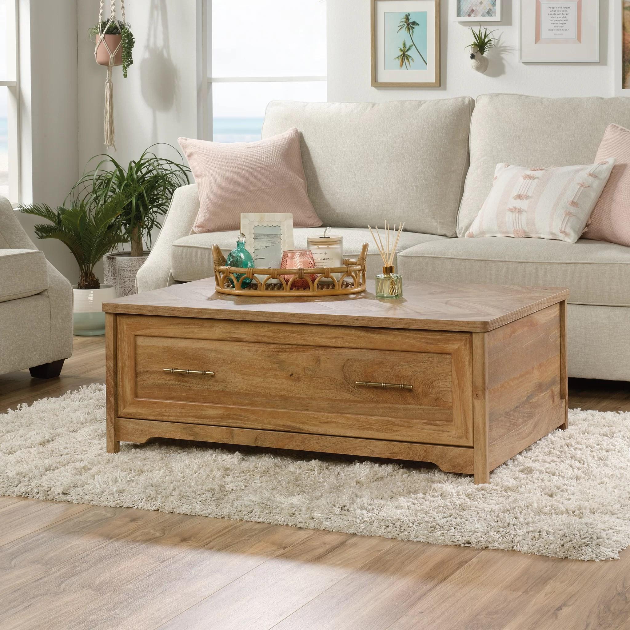 Bay Isle Home Liv Coffee Table With Storage Reviews Wayfair