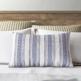 donofrio cotton lumbar pillow cover insert