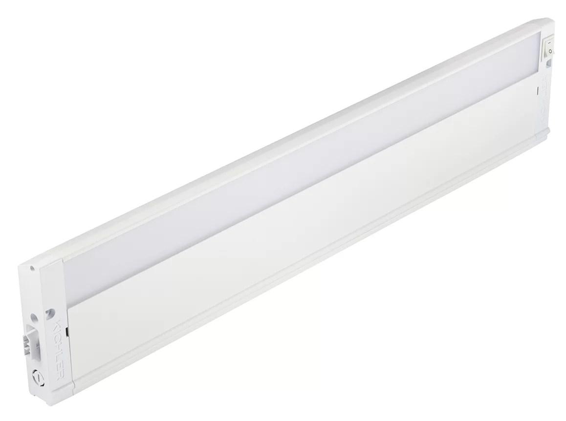 4u series 2700k led 22 under cabinet bar light